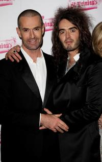 Rupert Everett and Russell Brand at the world premiere of
