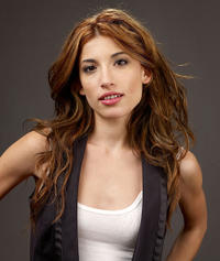 Tania Raymonde at the portrait session of