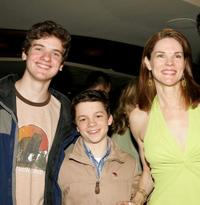 Harry Zittel, Conor Donovan and Carolyn McCormick at the after party of
