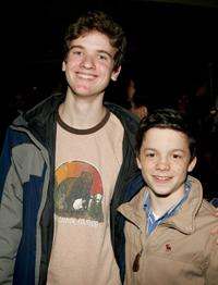 Harry Zittel and Conor Donovan at the after party of