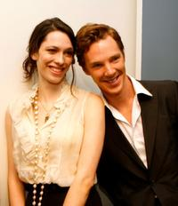 Rebecca Hall and Benedict Cumberbatch at the Los Angeles premiere of