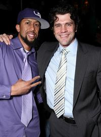 Affion Crockett and Jeff Wadlow at the after party of the premiere of