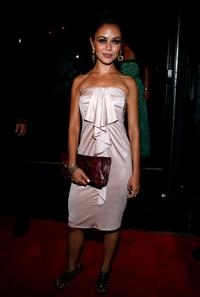 Alexis Dziena at the after party of the premiere of