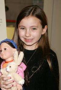 Rhiannon Leigh Wryn at the doll signing to celebrate the premiere of