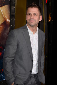 Producer Zack Snyder at the California premiere of