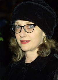 Carol Kane at the New York premiere of ''Iris''.