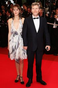 Tcheky Karyo and Guest at the premiere of