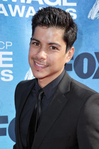 Jeremy Ray Valdez at the 42nd NAACP Image Awards in California.