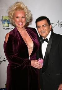 Casey Kasem and Guest at the 17th Annual Night Of 100 Stars Oscar Gala.