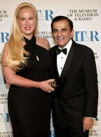 Jean Kasem and Casey Kasem at the Museum of Television and Radio Gala.
