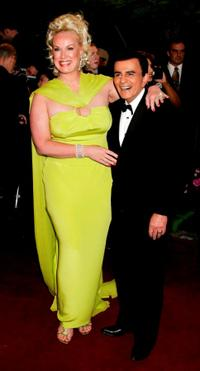 Casey Kasem and Guest at the 13th Annual Night of 100 Stars Oscar Viewing Black Tie Gala.