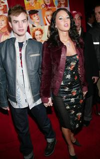 Megan Fox and boyfriend at the premiere of