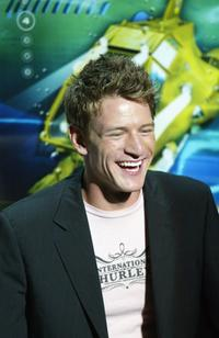 Philip Winchester at the Japan premiere of
