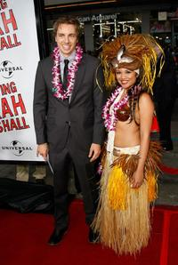 Dax Shepard and Guest at the premiere of