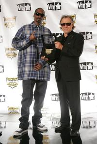 Harvey Keitel and Rapper Snoop Dogg at the 4th Annual VH1 Hip Hop Honors ceremony.