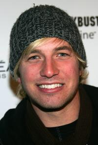 Ryan Hansen at the Entertainment Weekly Party during the Sundance Film Festival.
