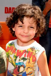 Max Burkholder at the premiere of