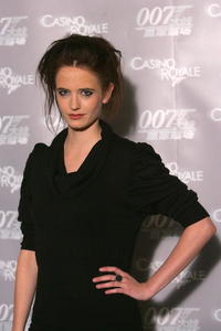 Eva Green at a press conference in Beijing, China.