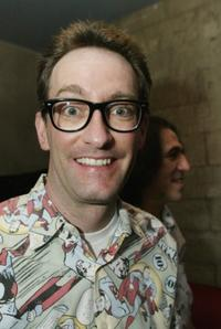 Tom Kenny at the Q People Tribute CD Party of