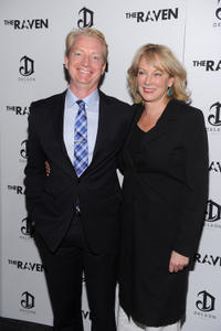Ben Livingston and Hannah Shakespeare at the New York premiere of