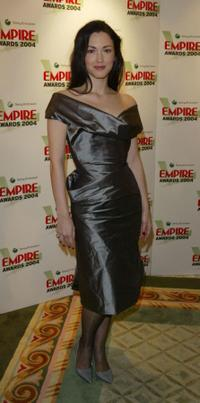 Julie Dreyfus at the Sony Ericsson Empire Film Awards.