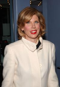 Christine Baranski at the premiere of Merchant Ivory's