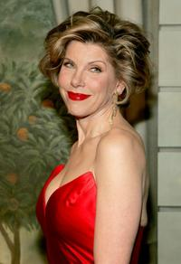 Christine Baranski at the Eighth Annual Red Ball at The Pierre Hotel.