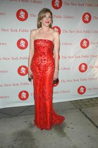 Christine Baranski at the New York Public Library's 2007 Lions Benefit at the New York Public Library.