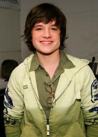 Josh Hutcherson at the Child Magazine Fall 2007 fashion show during the Mercedes-Benz fashion Week.