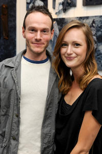 Chris Terrio and Kerry Bishe at the Guess Portrait Studio during the Day 3 of 2012 Toronto International Film Festival.