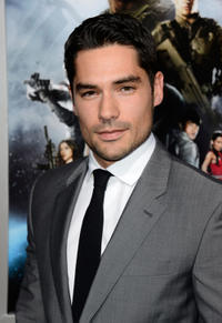 D.J. Cotrona at the California premiere of