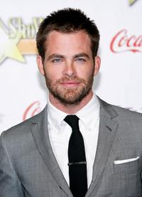 Chris Pine at the ShoWest 2009 Awards Ceremony.