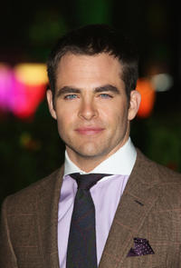 Chris Pine at the UK premiere of