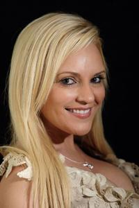 Bridget Marquardt at the 2008 World Experience DPA gift lounge.
