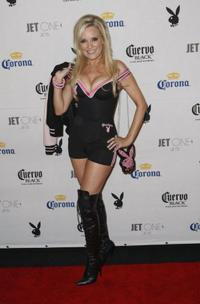 Bridget Marquardt at the Playboy's Super Saturday Night Party for Super Bowl XLII.