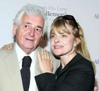 Harry Benson and Nastassja Kinski at the Harry Benson retrospective hosted by Architectural Digest.