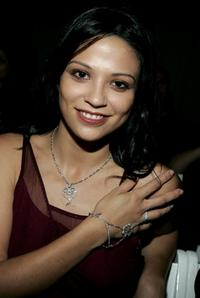Navi Rawat at the Saja Spring 2006 show during the Mercedes-Benz Fashion Week.
