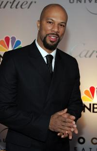 Common at the NBC / Universal Golden Globe After Party.