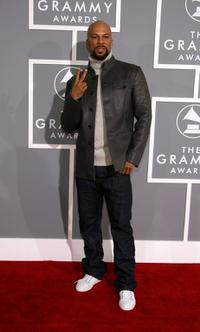 Common at the 49th Annual Grammy Awards.