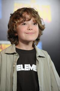 Trevor Gagnon at the Los Angeles premiere of