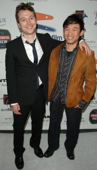 Leigh Whannell and James Wan at the Australians In Film 2006 Breakthrough Awards.