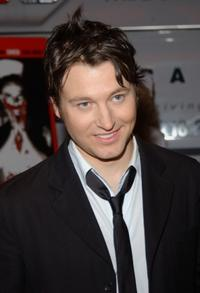 Leigh Whannell at the New York screening of
