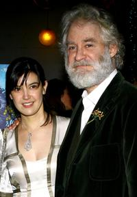 Kevin Kline and Phoebe Cates at the post-performance party of the opening night of King Lear.