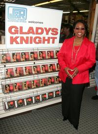 Gladys Knight at the J&R Music And Computer World.