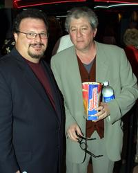Wayne Knight and Peter Reigert at the screening of