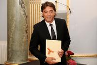 Javier Bardem at the National Cinematography Awards.