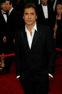 Javier Bardem at the 14th Annual Screen Actors Guild Awards.
