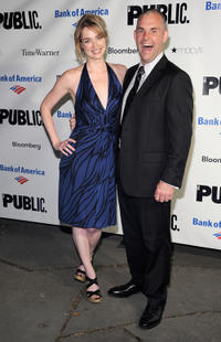 Kristen Connolly and Lucas Caleb Rooney at the 2011 Shakespeare In The Park Gala in New York.