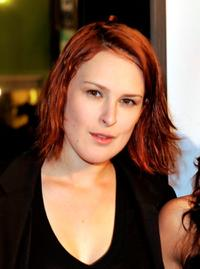 Rumer Willis at the premiere of
