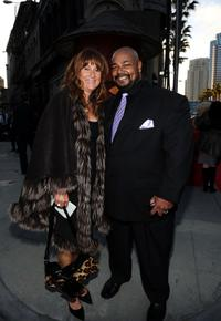 Monica Richardson and Kevin Michael Richardson at the Twentieth Century Fox 75th Anniversary Party.